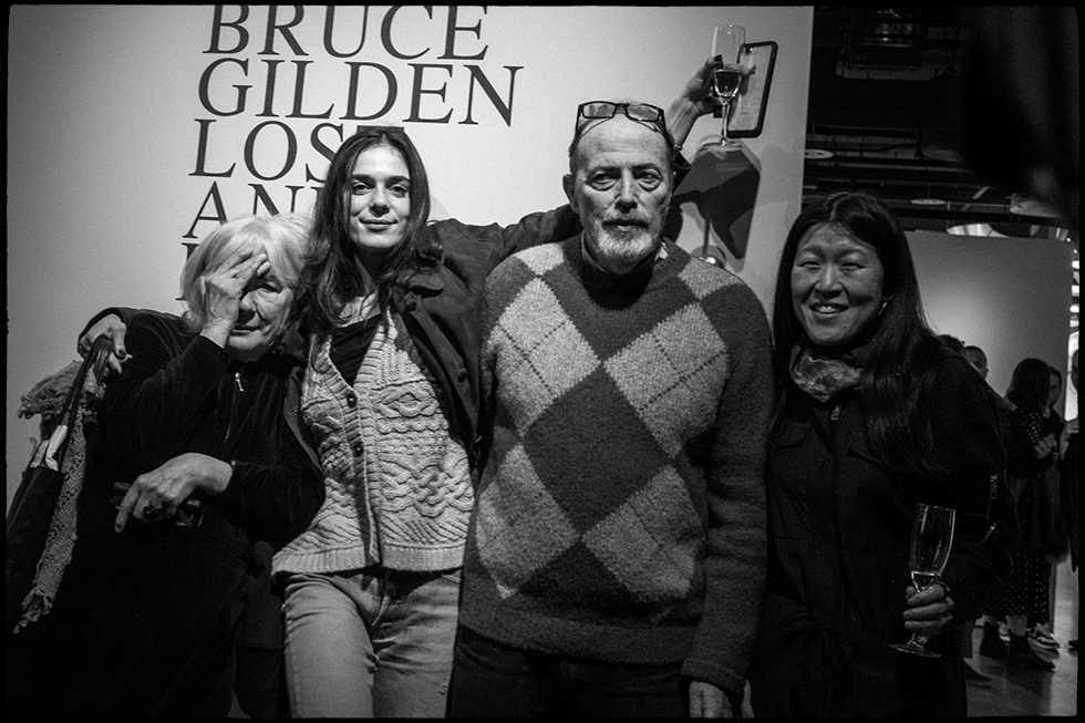 Sophie, Nina, Bruce and Nancy, Corso Como Gallery, New York City, 2020.