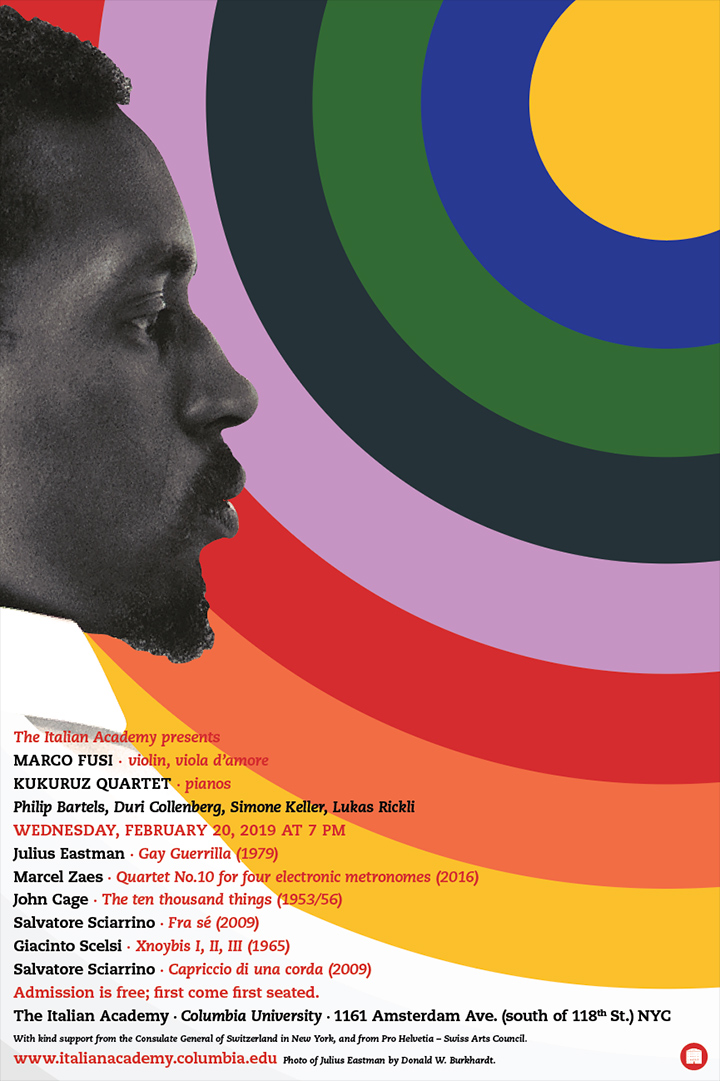 Julius Eastman poster.