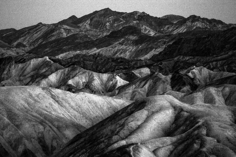 Zabriskie Point, Death Valley, 2005.