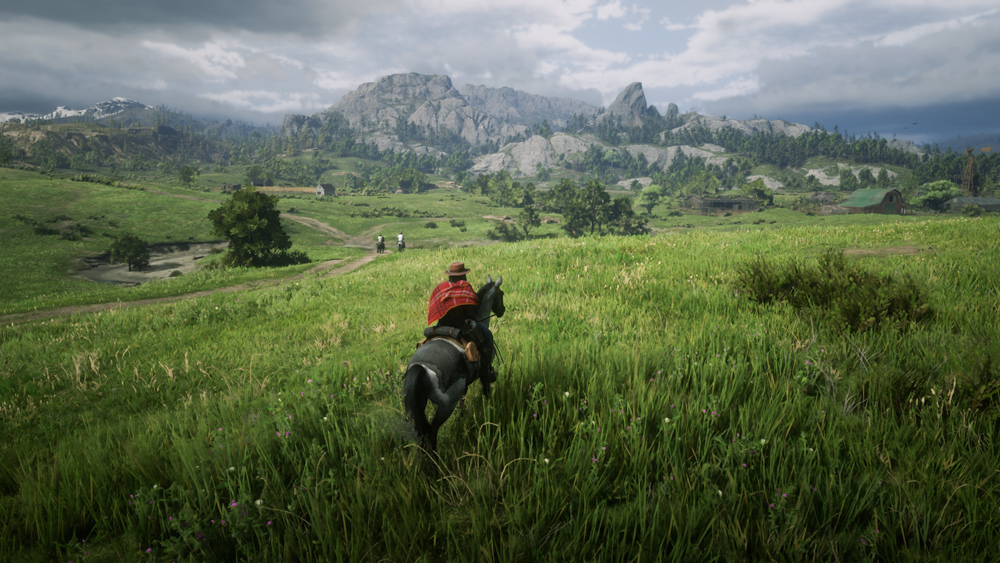 A screenshot of Red Dead Redemption 2 Online. Click to see the image in a larger size.