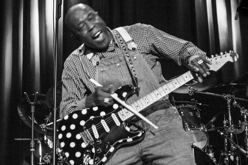 Blues guitar legend Buddy Guy at The Filmore West, 2006.