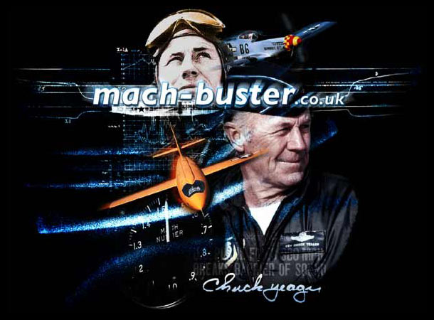 Chuck Yeager's carreer spanned WW2 and the golden age of test flights between the 40s and 60s. He was first to break the sound barrier in the Bell X1 on October 14, 1947.