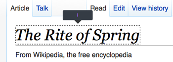 The worse Page Element Inspector.