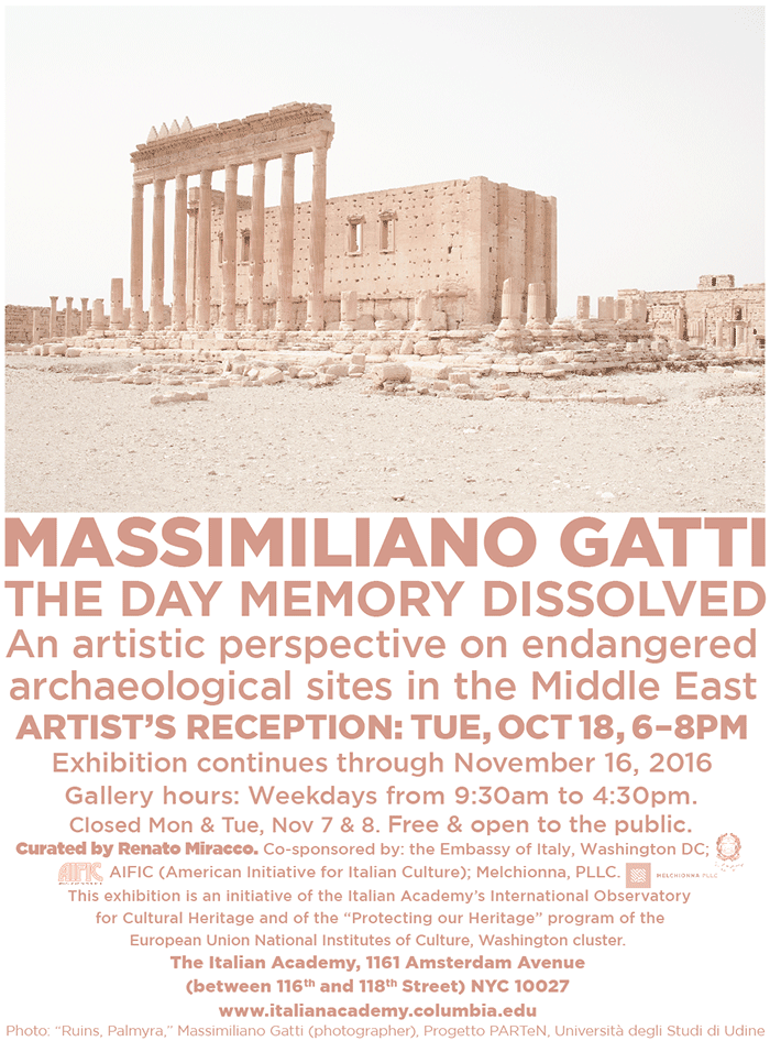 The Day Memory Dissolved poster.