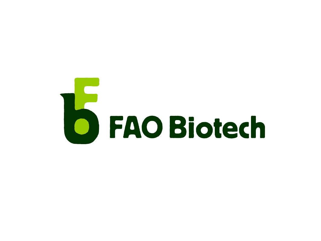 Logotype for the Food and Agriculture Organization's Biotechnology division.