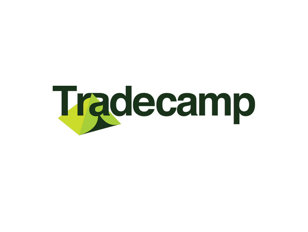 Logotype for Tradecamp, a web startup.