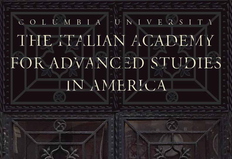 Italian Academy mesh banner mockup.